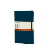 Записная книжка Moleskine Classic (в линейку) в твердой обложке, Large (13х21см), голубой сапфир