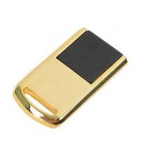 Мини флеш-карта USB 2.0 на 4 Гб, золотистый
