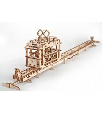 3D-ПАЗЛ UGEARS 'Трамвай'
