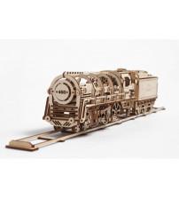 3D-ПАЗЛ UGEARS 'Поезд'