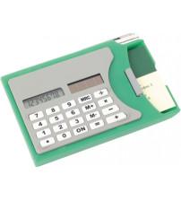 Визитница с калькулятором и ручкой