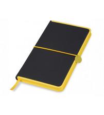 Блокнот 'Color Rim', черный/желтый. Lettertone
