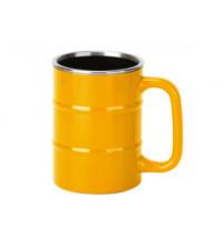 Кружка 'Баррель' 400мл, желтый