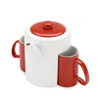 Набор: чайник, 2 чашки