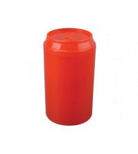 Набор 'Plastglass': 4 стакана с открывалкой, красный