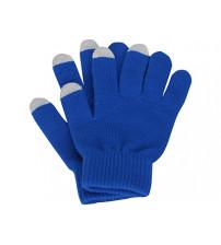 Перчатки для сенсорного экрана, синий, размер L/XL