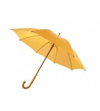 Зонт-трость 'Радуга', желтый
