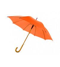 Зонт-трость 'Радуга', оранжевый