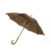 Зонт-трость 'Радуга', коричневый