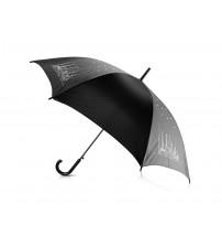 Зонт-трость '8 чудес света' со стразами