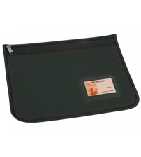 Папка для документов на молнии с отделением для визиток