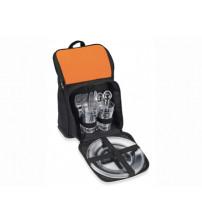 Рюкзак для пикника 'Стенли', черный/оранжевый